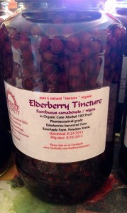 Elderberry Tincture in phamaceutical grade organic cane alcohol. www.SunRoseAromatics.com