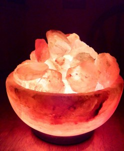 Himalayan Crystal Salt Lamps ~ Abundance Bowl www.SunRoseAromatics.com