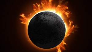 total solar eclipse www.SunRoseAromatics.com