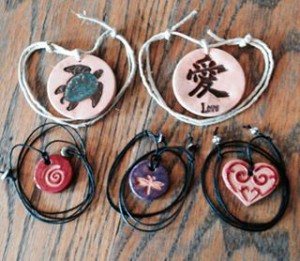 Terra Cotta Pendants & Diffusers www.SunRoseAromatics.com