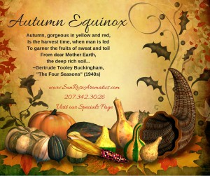 Autumn has arrived www.SunRoseAromatics.com