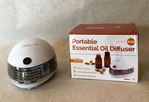 Scent Pod Portable Essential Oil Diffuser